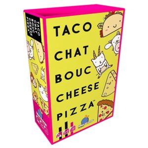 taco chat bouc cheese pizza boite
