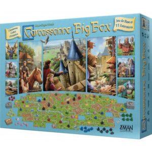 carcassonne big box 2017 boite