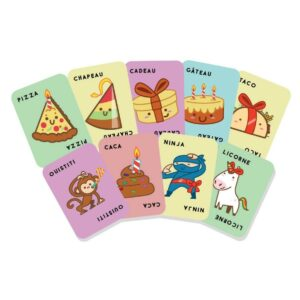 taco chapeau gateau cadeau pizza cartes